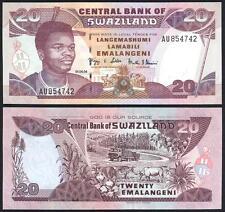 SWAZILAND 20 Emalangeni 2004 UNC P 30 b