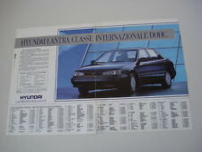 advertising Pubblicità 1991 HYUNDAI LANTRA