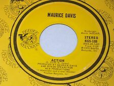 Maurice Davis:  Action / Mr. Lonely  [Unplayed Copy]