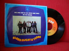 1974 BLOOD SWEAT & TEARS Love Looks Good On You 7/45 NMINT Psych Jazz Rock RARE