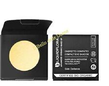 LIQUIDFLORA Ricarica OMBRETTO compatto Biologico 08 Golden Moon bianco oro occhi