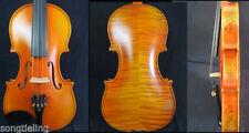 Strad style SONG Brand master violin 4/4,beautiful drawing rib and neck #10860