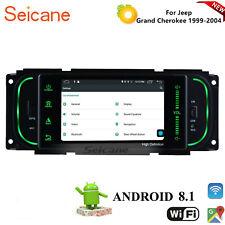 Car Radio DVD GPS Navi Sat Bluetooth Stereo For Jeep Grand Cherokee 1999-2004
