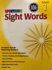 Carson Fellows: Spectrum: Sight Words: Grade 1