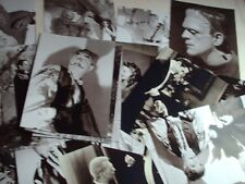 UNIVERAL MOVIE HORROR JOB LOT OF 20 B/W PHOTOGRAPHS 7 X 5 BORIS KARLOFF ACTORS