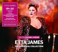 ETTA JAMES - ESSENTIAL COLLECTION  CD + DVD NEW!