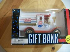 New In Box GOLDEN WHEEL Lmt Edition Die Cast PEPSI COLA Tanker Truck Gift Bank