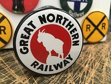 GREAT NORTHERN RAILWAY railroad RAILWAY full backed refrigerator MAGNET
