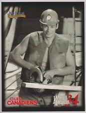 "P.Popovic 1996 Montreal Canadiens Program Line-Up 8"" x 10"" Molson Export Forum"