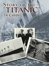 Dover STORY OF THE TITANIC Postcards Frank O. Braynard 1988 Photo Postcards