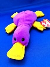 524d1a30406 Ty Beanie Baby - PATTI the Platypus - PVC