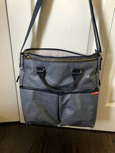 Skip Hop  Diaper Bag Purse Shoulder Messenger Bag With Changing Pad Baby Carry