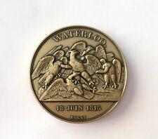 Médaille Napoléon Waterloo 18 Juin 1815