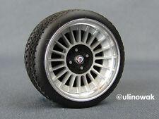 "99014-16/4 Cerchi in lega 1:18 ALPINA-design 16"" 6/6mm P incl. LOGO"