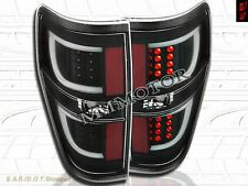 09-14 Ford F150 F-150 Pickup Truck Black Housing Clear Lens G2 LED Tail Lights