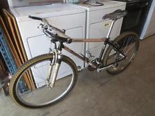 """Vintage 1990s Bianchi Grizzly 15"""" Mountain Bike w/ Shimano Deore XT Crank Brakes"""