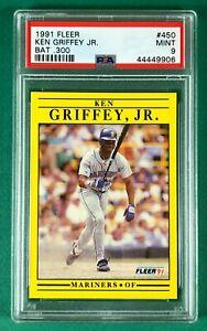 1991 Fleer Ken Griffey Jr. #450 PSA 9 MINT