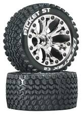 "NEW Duratrax Picket ST 2.8"" Mounted Tires / Wheels 1/2"" Offset Savage Flux DT..."