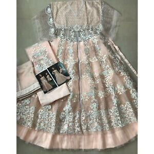 Indian Pakistani Anarkali Gown Suits New Designer Party Wear Salwar Kameez Dress