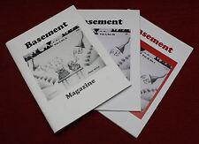 Basement Magazine Boulder Colorado Three Early Issues V1Iii V1Iiii V2Ii