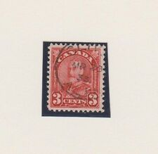Canada 167 2c Arch Geo V. CLIVE, ALTA. c.d.s. 1933, mgn