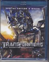 2 BLU-RAY TRANSFORMERS - LA VENDETTA DEL CADUTO - SPECIAL EDITION - NUOVO NEW