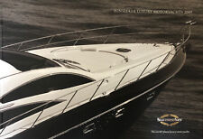 More details for sunseeker luxury motor yachts hardback brochure - 2009 c/w all model price list
