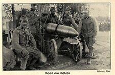 1914 Kampf um Przemysl * Anfahrt eines 30,5 cm-Mörser-Geschosses *  WW1