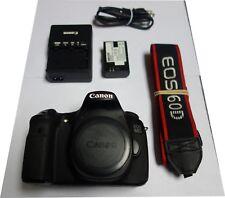 Canon EOS 60D 18.0MP Digital SLR Camera - Black (Body Only) Shutter - 8632