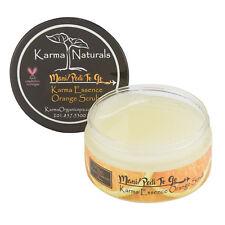 "Unisex Essence Fresh Skin Cleanser Exfoliating Karma Organic ""Orange Scrub"""
