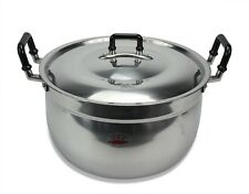Large Rice Cooking Pot, 28cm. Authentic Thailand Cookware. Thai: Chue Chin Hua