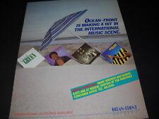 Garland Green Tyrone Davis David Williams Race 1984 Ocean Front promo poster ad