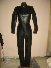 Real Leather Women Mistress Catsuit for Discipline Slave   Cosplay Gothic