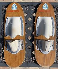 HYDRO-FLITE HEADLUND Vintage Wood Shoe Skis