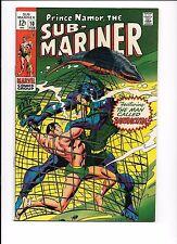 Prince Namor, The Sub-Mariner #10 February 1969