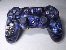 Manette PS4 Custom à l'aérographe !!! Dualshock 4 Sixaxis ! Halo