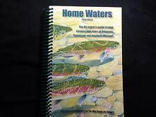 Home Waters Fly Fishing book, New w/maps, Mid South Fly Fishers, Great gift