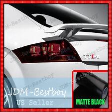 "16"" x 48"" MATTE BLACK SMOKE Brake Light Vinyl Tint Taillight Headlight Fog Film"