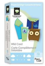 CRICUT *WILD CARD* SHAPES & FONT CARTRIDGE *NEW* (CARDS, ENVELOPES, ALPHABET...)