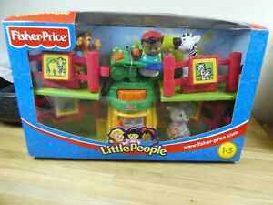 Fisher Price Little People Baby Zoo Animals Playset 77984 New Old Stock Boxed