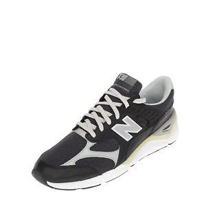 NEW BALANCE X-90 Sneakers EU 47.5 UK 12.5 US 13 Contrast Leather Reflective Trim