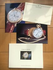 Pages Full Color Price List Excellent Large Chronoswiss 1994 Watch Catalog 68