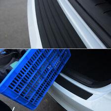 AU Car Black Rear Boot Bumper Sill Protector Plate Rubber Cover Guard