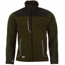 Helly Hansen Mens Barnaby Fleece Jacket Long Sleeve Coat. olive night/charcoal