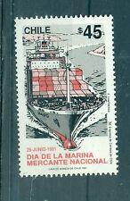 MARINE MARCHANDE - MERCHANT NAVY CHILE 1981