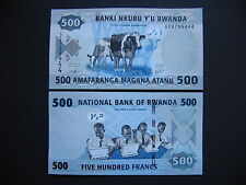 Kinyarwanda/Rwanda 500 francos 2013 (p38) UNC