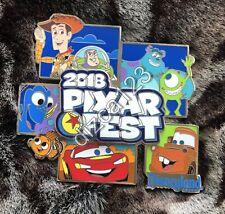 Disney Pin Disneyland Pixar Fest 2018 Jumbo Logo AP Annual Passholder Pin LE