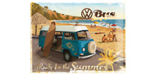 BLECHSCHILD 23129 - VW / VOLKSWAGEN - READY FOR THE SUMMER - 30 x 40 cm - NEU