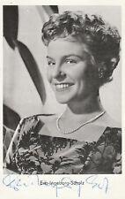 EVA-INGEBORG SCHOLZ - original signierte Kolibri Autogrammkarte AK