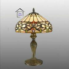 TIFFANY Elegant IVY HANDCRAFTED TABLE LAMP - IDEAL CHRISTMAS GIFT